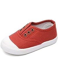 2aef06aa33a23 Daytwork Bébés Chaussures - Enfant Unisexe Toile Baskets Chaussures  Première Marche Punt Bas Haut Slip on