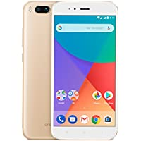 "Xiaomi Mi A1 Dual SIM 4G 32GB Gold, White - Smartphones (14 cm (5.5""), 1920 x 1080 pixels, 32 GB, 12 MP, Android, Gold, White)"