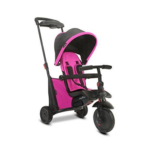 SMARTRIKE - Tricycle Évolutif Pliant Smartfold 500, 505-0200, Rosa