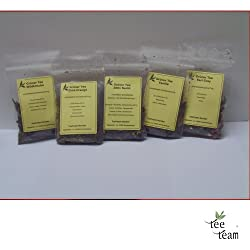 TeeTeam Grüntee - Tee Probierset Grüner Tee Aroma, Porbier Set, Probieren, 50 g