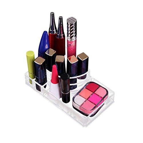 Maquillage Rangement Tiroir Crsital Acrylique Transparent Organisateur (A)