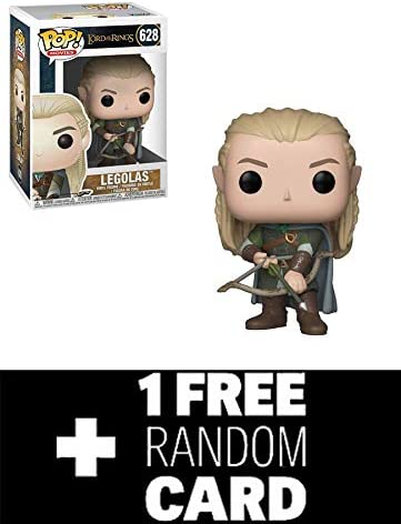 FunkoPOP Lord Lord Lord of The Rings: Legolas w/ Bow & 1 Random LOTR Trading Card | Art Exquis  4e9ae7