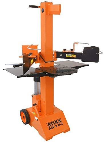 ATIKA 301731 Hydraulikspalter ASP 8 N-2 Kurzholzspalter bis 550 mm   8 Tonnen Spaltkraft 8t   Brennholzspalter 400 V   Holzspalter stehend 3500 W