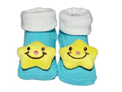 Me Stores Baby New born Socks cum shoes (Pack Of 1) (0 -9 Months)