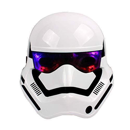 LED Leuchtende Maske Cosplay Maske für Kostüm Festpartys Karneval Weihnachten Masquerade Halloween ()