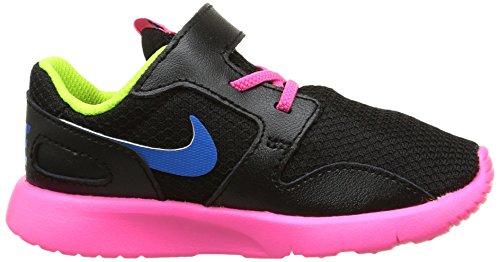 Nike Kaishi (Tdv), Chaussures du Nouveau-Né Fille noir / Bleu / Rosa / Vert (Black / Photo Blue-Pink Pow-Volt)
