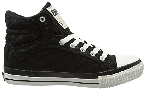 British Knights - Dee, Sneaker alte Donna Nero (nero (black 01))