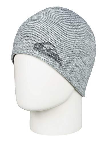 Quiksilver EQYHA03199 Bonnet Homme, Light Grey Heather, FR Fabricant : Taille Uniqu