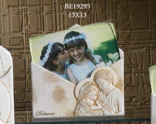 Dolcicose portafoto con sacra famiglia busta - maria