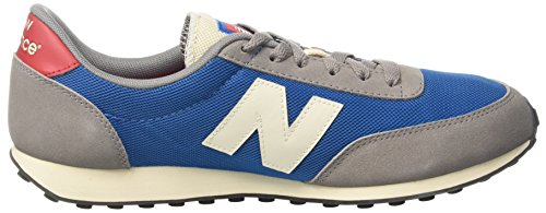 New Balance 410, Scarpe da Ginnastica Unisex-Adulto Multicolore (Grey/Blue)