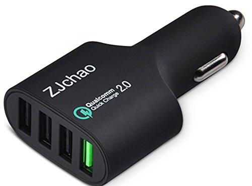 auto-ladegert-qualcomm-zertifiziert-quick-charge-20-kfz-ladegert-4-port-54w-72a-usb-car-charger