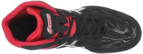 Asics J203Y Men's SPLIT SECOND 9 Shoes, Red/Silver/Black, 11/ UK:SIZE 10