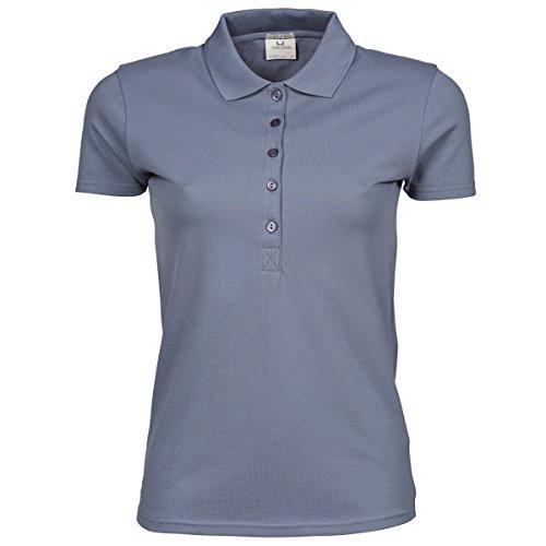Tee Jays Damen Luxury Stretch Polo-Shirt, Kurzarm (M) (Feuerstein)