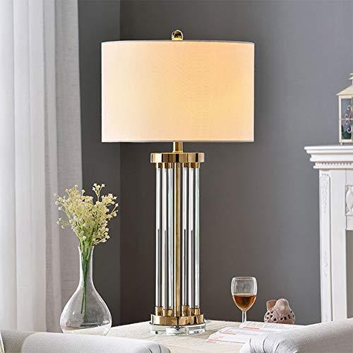 CHANG Lampada da Comodino da Camera da Letto in Cristallo E27 Base Oro  Lampada da Tavolo con Lampada da Comodino Camera da Letto Creativa in  Cristallo ...