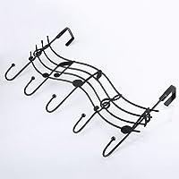 little finger Hooks & Hangers Vintage Metal Music Note Hook Coat Hat Bag Hanger Organizer Holder Wall Decor for Home