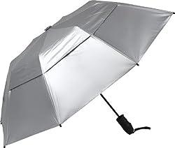 Haas-Jordan Urbanite Reflector Golf Umbrella, Silver