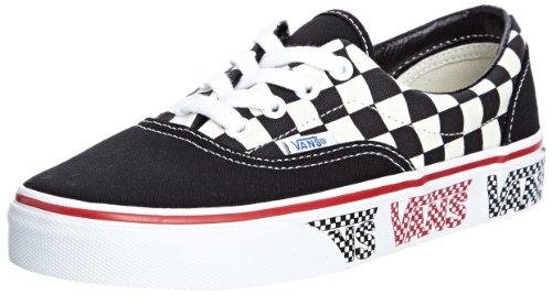 Vans – Unisex Era Shoes in Van Doren Black/Checker, UK: 3.5 UK, Van Doren Black/Checker
