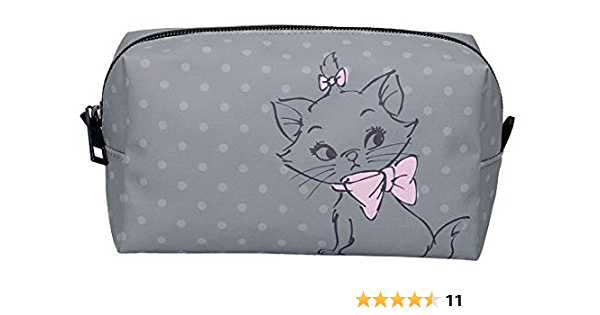 De Aristokatten Disney Aristocats Kostmetiktasche Marie Grau Koffer Rucksäcke Taschen