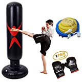 KY Punching Sacco da Boxe da Boxe da Terra - Sacchetti Porta Punch per bersagli/manichino Eccellente per Boxe/Kick Box/Arti Marziali Miste/Attrezzature da Allenamento MMA