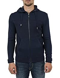 Guess Ls Hood Double Fabric Swtr, Pull Homme