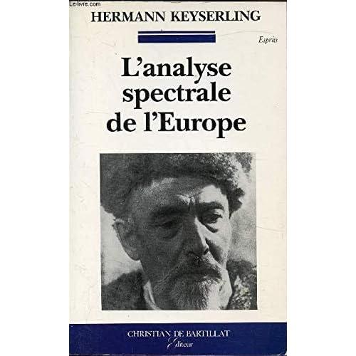 ANALYSE SPECTRALE DE L EUROPE