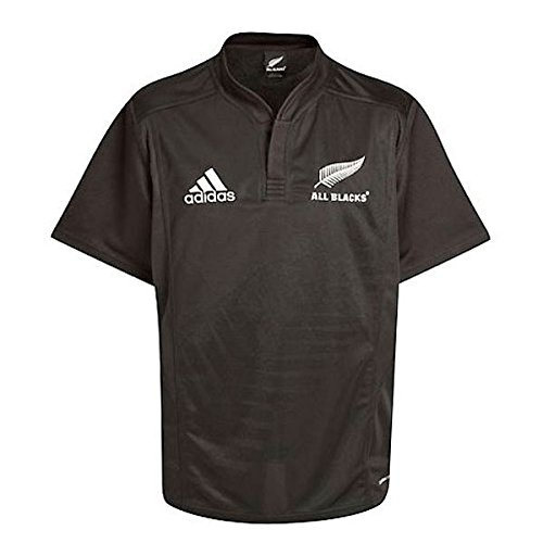 ADIDAS All Blacks Home Short Sleeved Rugby (Nuova Zelanda Rugby Shirts)
