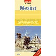 Mexico, Guatemala, Belize, El Salvador : 1/2 500 000