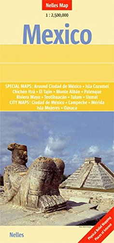 Mexico - Guatemala, Belize, El Salvador 1 : 2 500 000 (Nelles...