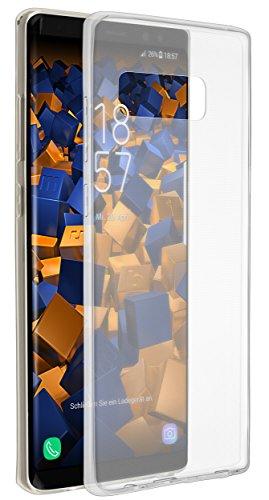 mumbi UltraSlim Hülle für Samsung Galaxy Note8 Schutzhülle transparent (Ultra Slim - 0.70 mm) (Galaxy Note Edge-akkudeckel)