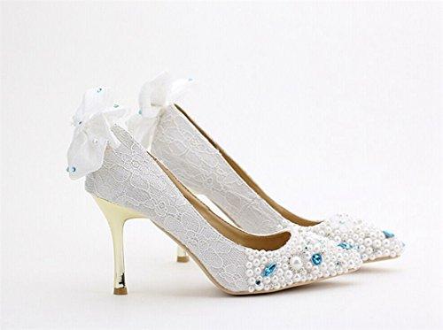Miyoopark , Semelle compensée femme White-10cm Heel