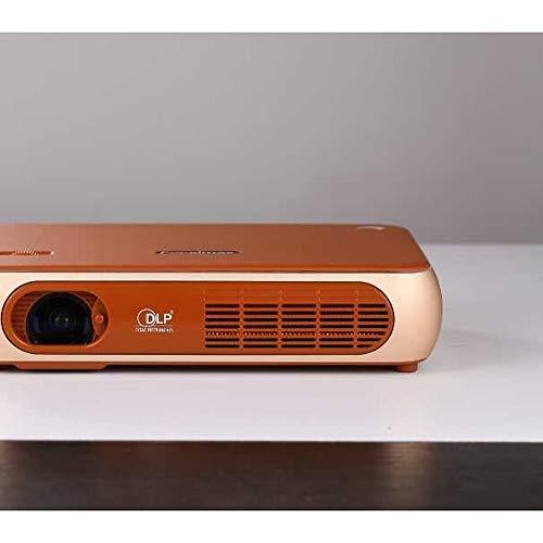 LH-Beame:Factory OEM P1 DLP Projektor fürs Büro / Heimkino-Projektor / Mini-Projektor LED Projektor 8000 lm Unterstützung 1080P (1920x1080) 30-300 Zoll Bildschirm ,Schwarz