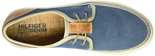 Tommy Hilfiger H2385ood 1b, Sneakers Basses Homme Bleu (Jeans 013)