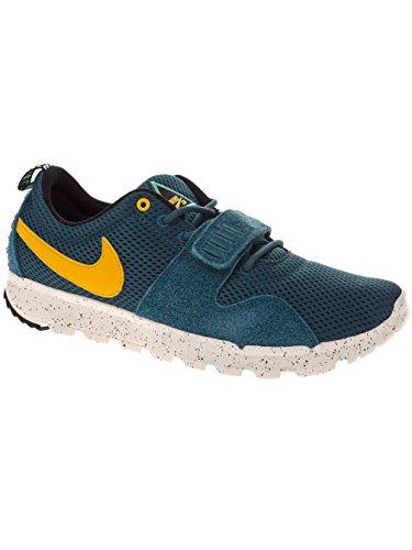 Nike, Wmns Capri Ii, Sneaker, Donna Night Factor/Varsity Maize/Slate