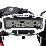 ~ Sunding Drahtloses Wasserdichtes LCD Fahrrad Radcomputer Kilometerzähler-Hintergrundbeleuchtung