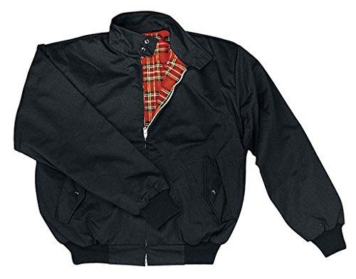 Harrington Jacket en 60/62 negro de Knightsbridge
