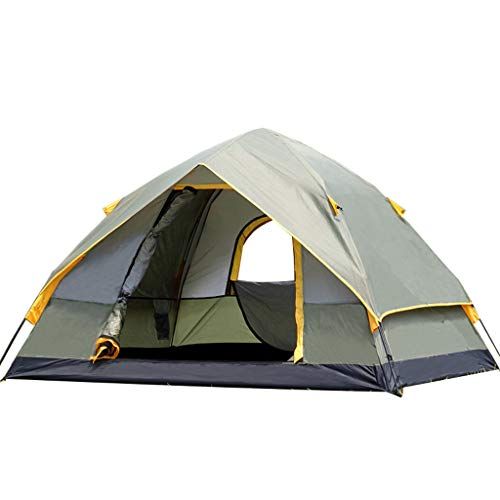 CATRP Marke Pop-Up-Zelt Camping Automatik Sofortig Schnell Öffnung Doppelschicht Draussen Tragbar Familienzelt