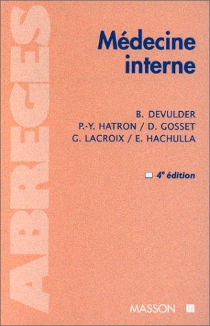 MEDECINE INTERNE. 4ème édition