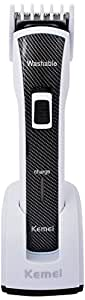 KEMEI Professional Washable Hair Clipper KM 6166 (Colour May Vary)