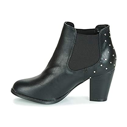 moony mood JURDEAN Ankle Boots/Boots Women Black Ankle Boots 4