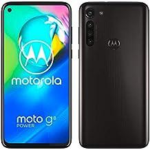 "Motorola Moto G8 Power, Batteria 5000 mAh, Display MaxVision FHD+ 6,4"", Quad Camera 16MP, Processore Octa-Core, Dual SIM, Speaker Dual Stereo Dolby, 4/64GB Espandibile, Android 10, Black"