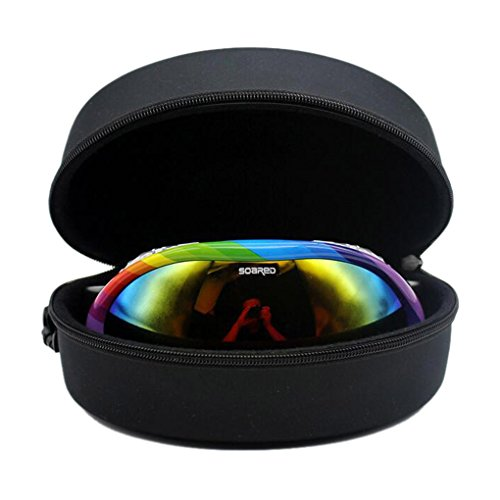 Occhiali da sole occhiali da sci sport occhiali vetro protezione Trasporto Custodia rigida scatola, child