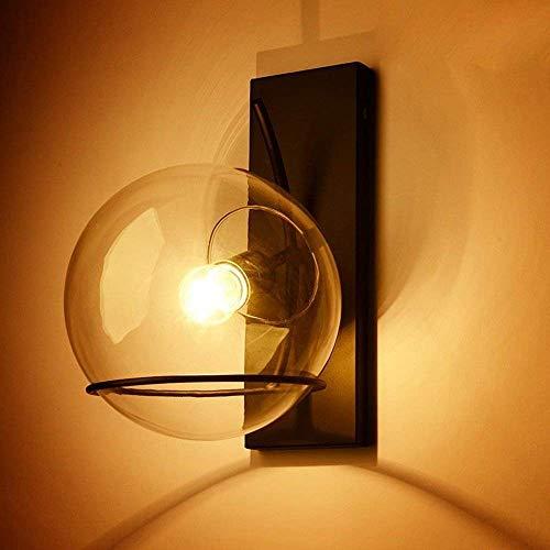 Retro Kreative Eisen Glas Leuchte Wandleuchte Industrial Minimalistischen Stil Design Flur...