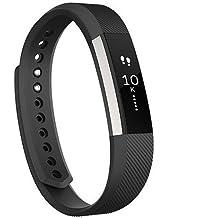 Correa de recambio para relojes de pulsera Fitbit Alta y Alta HR; correa de repuesto para reloj inteligente de pulsera, disponible en varios colores, negro