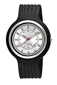 Breil Men's New Hip Hop Analogue Watch TW0408 with 47mm Stainless Steel Case, and Black Resin Strap