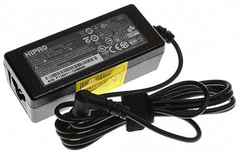 Netzteil für Acer Aspire 1410, 1411, 1412, 1413, 1414, 1415, 1420P, 1425P, 1810T, 1810TZ, 1820PT, 1825PT, 1825PTZ, One 531H, One 532H, One 751, One 752, One A110, One A150, One D150, One D250, One P531, One ZG5, Timeline 1810T; eMachines 250; Packard Bell Butterfly Touch-EM / DOT DOA150 / dot.M / dot.MRU / dot.MU / dot.NC/05 / dot.S / dot.S2 / dot.SE / dot.SPT / dot.VR46 / dot.ZG6 / dotma / Easynote BFT / EasyNote BFXS / Easynote Butterfly T / EasyNote Butterfly Xs (Original AP.0300A.002)