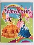 Leggi e colora con le principesse