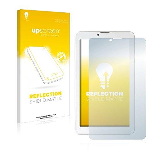 upscreen Reflection Shield Matte Bildschirmschutz Schutzfolie für i.onik TM3 Serie 1 - 7 (matt - entspiegelt, hoher Kratzschutz)