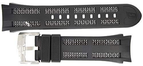 Uhrenarmband Ersatzband Kautschuk schwarz passend zu allen Festina F16882