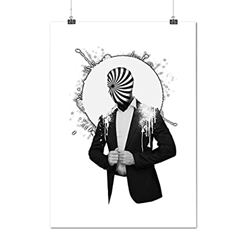 Costume Cool Impression Mode Humain Vision Matte/Glacé Affiche A4 (30cm