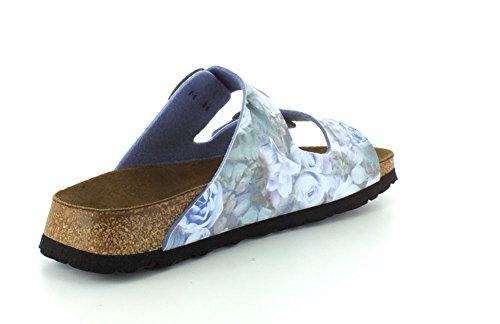 Papillio Womens Arizona Birko-Flor Sandals Silky Rose Blue